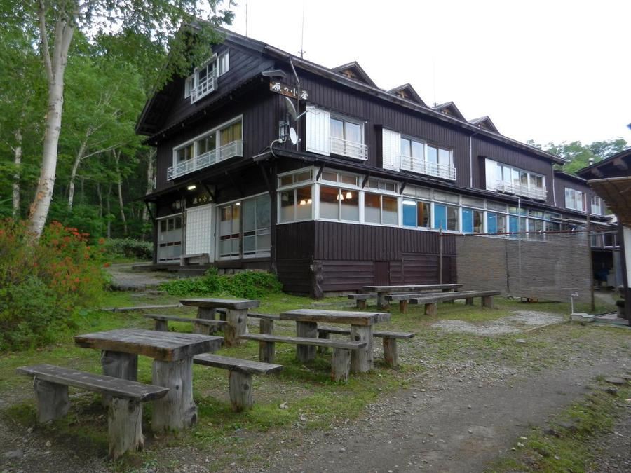 Oze National Park has a number of mountain huts, including Harano-koya as seen here