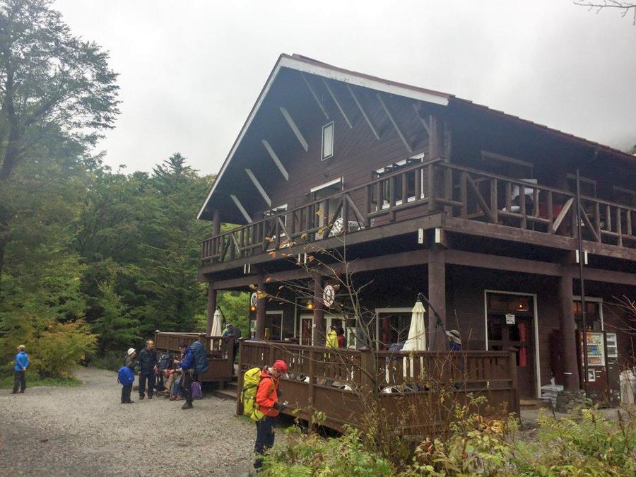Tokusawa-en hut in the Tokusawa area