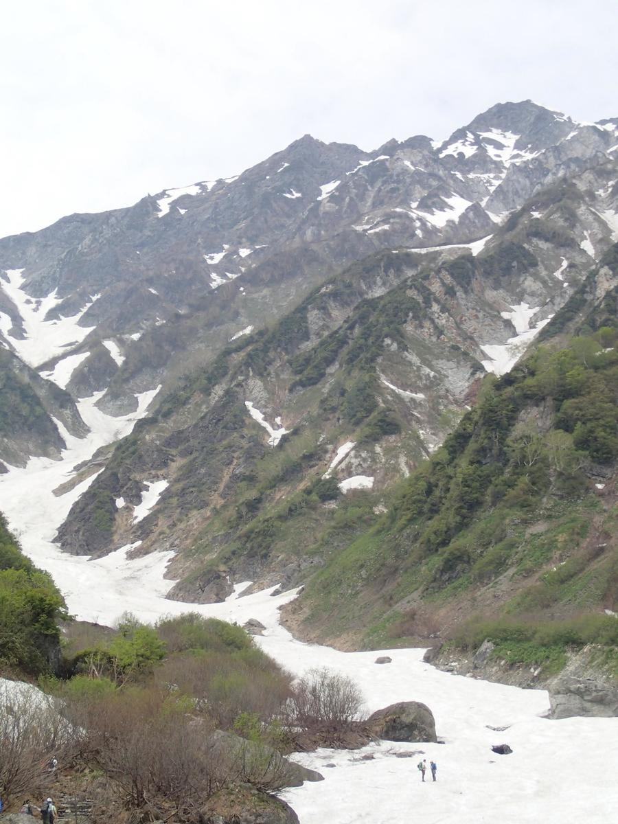 The Hakuba Daisekkei snow patch