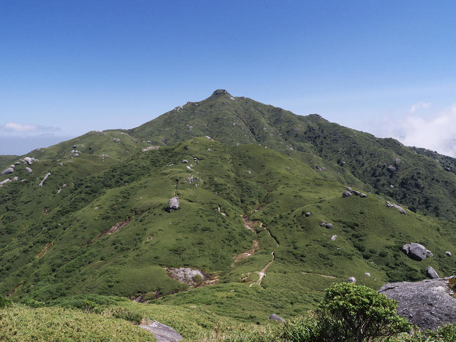 Mt. Miyanoura, Yakushima's highest peak