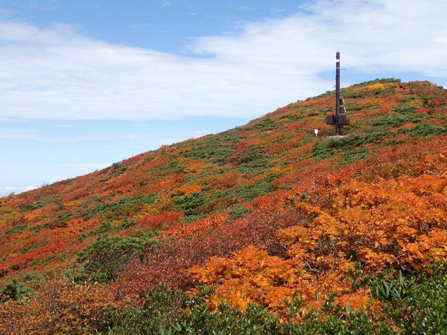 Ridgeline of Mt.Kurikoma