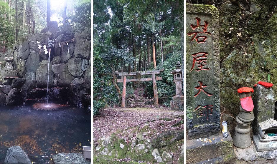 Various deities throughout Japan